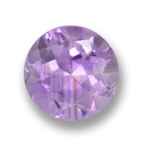 Medium Violet Amethyst Gem - 2.6ct Round Facet (ID: 460643)