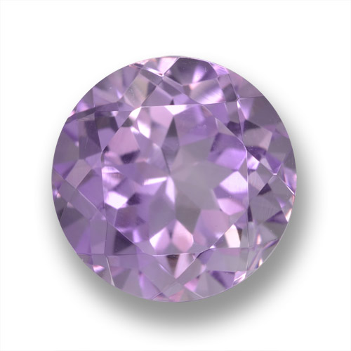 Medium Violet Amethyst Gem - 4.1ct Round Facet (ID: 460879)