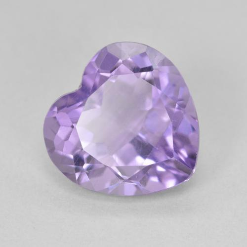 Violet Amethyst Gem - 3ct Heart Facet (ID: 476320)
