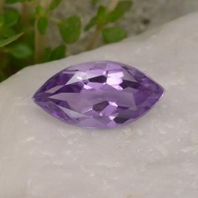 1.4ct Marquise Facet Deep Violet Amethyst Gem (ID: 494430)