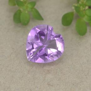 thumb image of 0.6ct Heart Facet Violet Amethyst (ID: 497699)