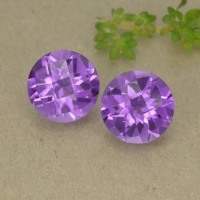 thumb image of 2.5ct Round Checkerboard Violet Amethyst (ID: 498416)
