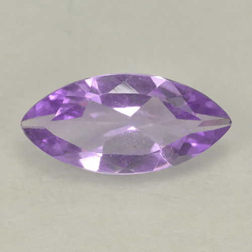 1.3ct Marquise Facet Pinkish Violet Amethyst Gem (ID: 499600)