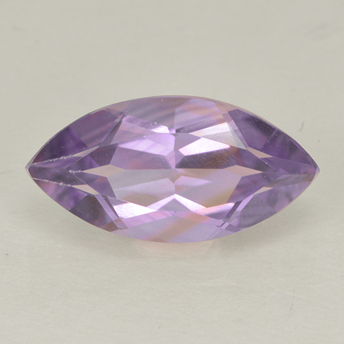 1.8ct Marquise Facet Light Pinkish Violet Amethyst Gem (ID: 499971)