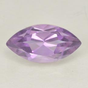 2ct Marquise Facet Pinkish Violet Amethyst Gem (ID: 499973)