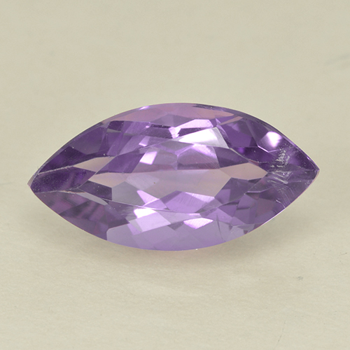 1.8ct Marquise Facet Deep Violet Amethyst Gem (ID: 499975)