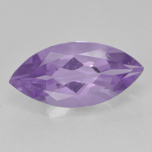 Medium Violet Amethyst Gem - 1.6ct Marquise Facet (ID: 500227)