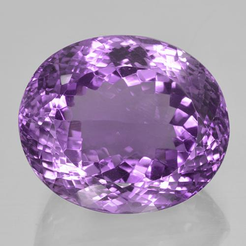 Deep Purplish Violet Ametista Gem - 42.3ct Ovale taglio portoghese (ID: 505948)