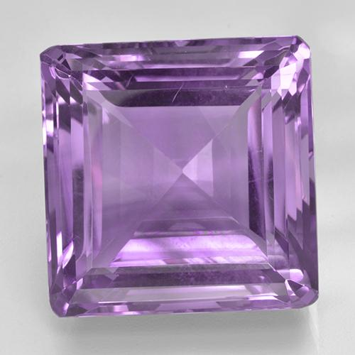 Medium Purplish Violet Ametista Gem - 45.9ct Taglio ottagonale (ID: 505956)