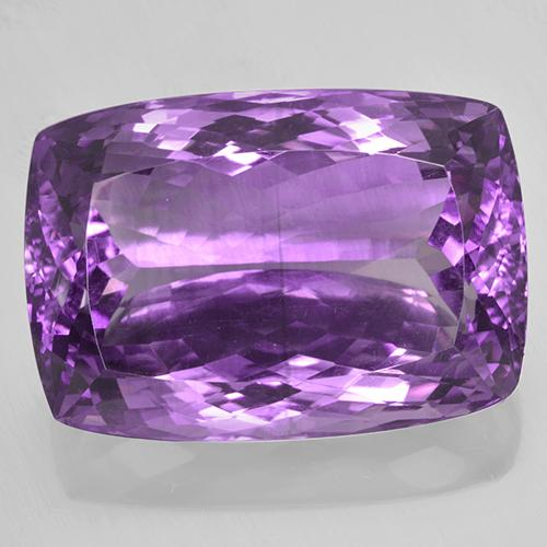 Violet Amethyst Gem - 50.3ct Cushion-Cut (ID: 505964)