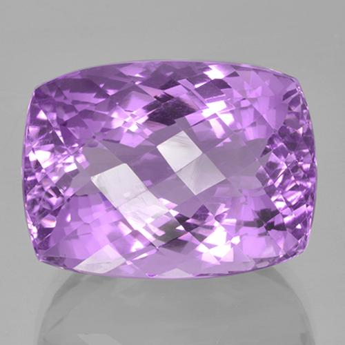 36.4ct Cushion Checkerboard Violet Amethyst Gem (ID: 506007)