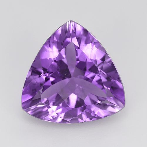 Medium Violet Amatista Gema - 5.8ct Forma trillón (ID: 514753)