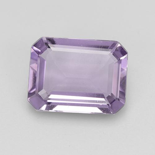 Medium-Light Violet Ametista Gem - 1.7ct Taglio ottagonale (ID: 516954)