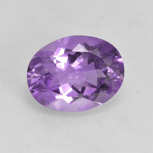 Medium Purplish Violet Amatista Gema - 1.6ct Forma ovalada (ID: 528927)