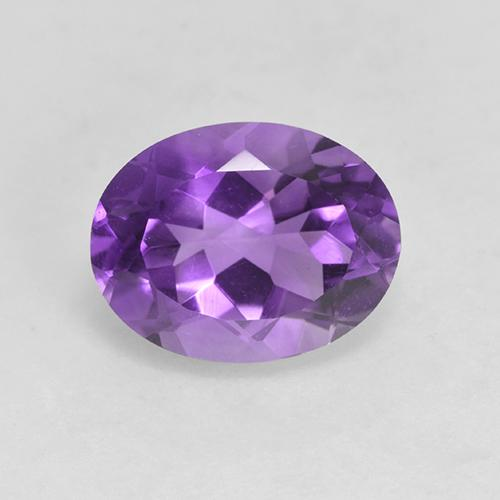 Medium Violet Amatista Gema - 1.8ct Forma ovalada (ID: 528931)