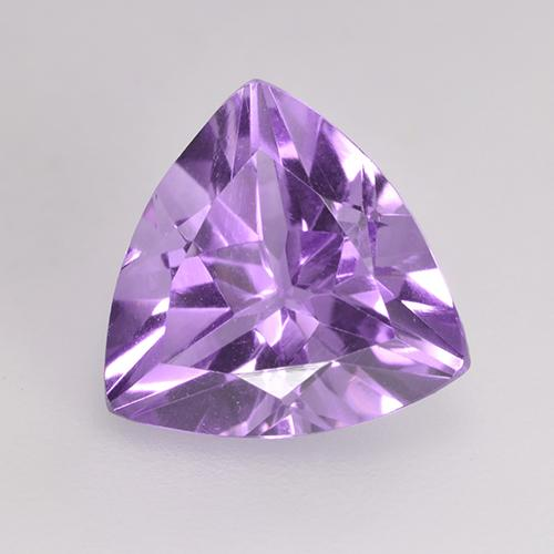 Medium Violet Amatista Gema - 2.3ct Forma trillón (ID: 529279)
