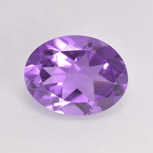 Medium Purplish Violet Amatista Gema - 1.8ct Forma ovalada (ID: 529454)