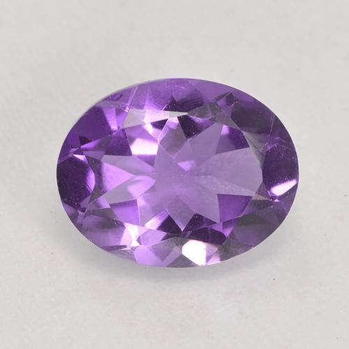 Medium Violet Amatista Gema - 1.5ct Forma ovalada (ID: 530613)