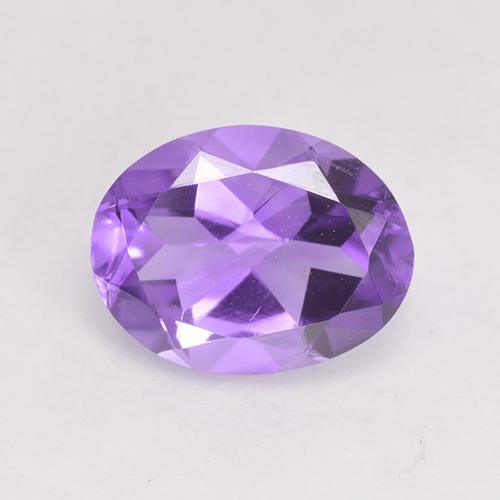 Medium-Light Violet Amatista Gema - 1.6ct Forma ovalada (ID: 531059)