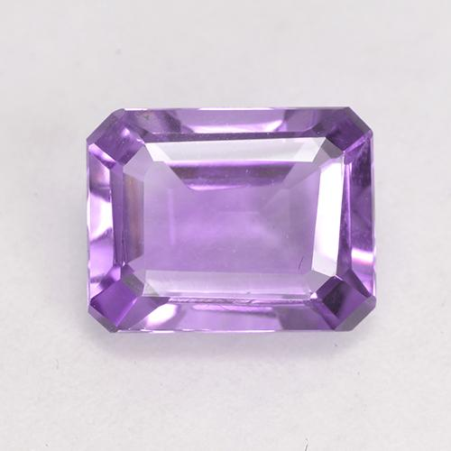 Medium Violet Amethyst Gem - 2.1ct Octagon Facet (ID: 532527)