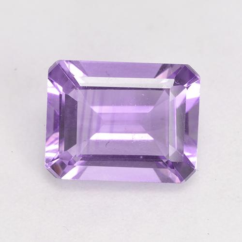 Medium Violet Amethyst Gem - 2ct Octagon Facet (ID: 532528)