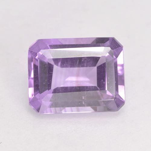 Light Pinkish Violet Amatista Gema - 2ct Forma octagonal (ID: 532572)