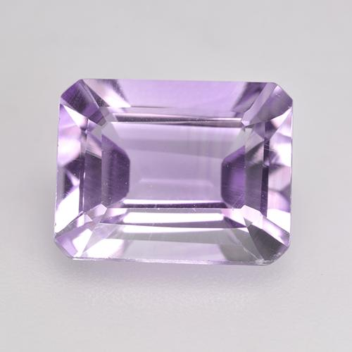 Light Violet Amethyst Gem - 2.2ct Octagon Facet (ID: 533302)