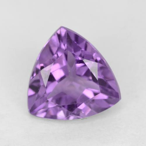 Medium Violet Amatista Gema - 2.3ct Forma trillón (ID: 542787)