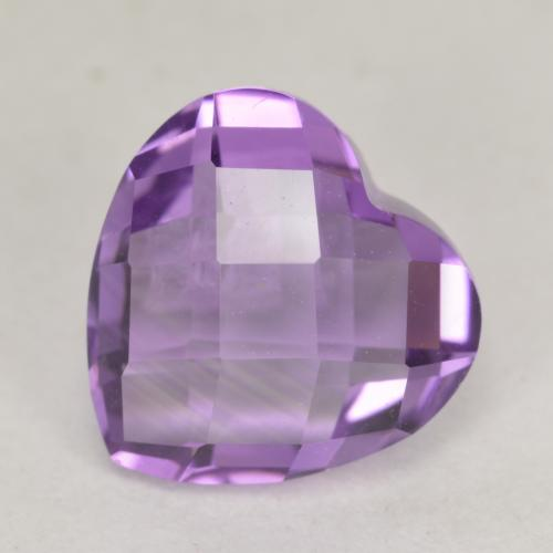 Details about  /9x7mm Cushion Facet Amethyst,Briolette checkerboard cut LOOP CLEAN Natural gems