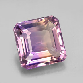 Buy 8.21 ct Bi-Color Ametrine 12.34 mm x 12.2 mm from GemSelect (Product ID: 280265)