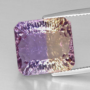 Buy 14.42 ct Bi-Color Ametrine 14.37 mm x 13.6 mm from GemSelect (Product ID: 298113)