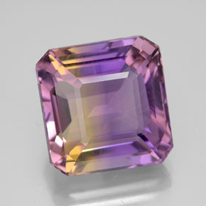 Buy 11.07 ct Bi-Color Ametrine 13.34 mm x 12.9 mm from GemSelect (Product ID: 302088)