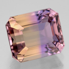 Buy 8.48 ct Bi-Color Ametrine 12.49 mm x 10.6 mm from GemSelect (Product ID: 308483)