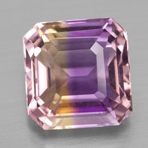 Buy 4.82 ct Bi-Color Ametrine 10.22 mm x 10 mm from GemSelect (Product ID: 327089)