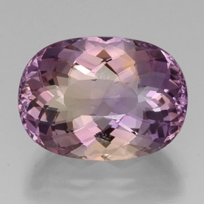 Buy 19.15 ct Bi-Color Ametrine 19.87 mm x 14.6 mm from GemSelect (Product ID: 333055)