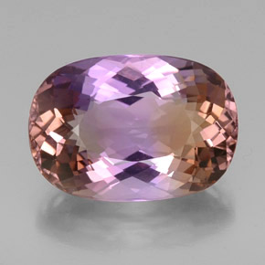 Buy 25.08 ct Bi-Color Ametrine 23.06 mm x 16.2 mm from GemSelect (Product ID: 333283)