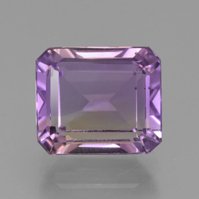 Bi-Color Ametrine Gem - 4.5ct Octagon Facet (ID: 427216)