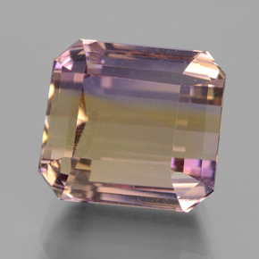 Buy 9.92 ct Bi-Color Ametrine 11.62 mm x 10.6 mm from GemSelect (Product ID: 434733)