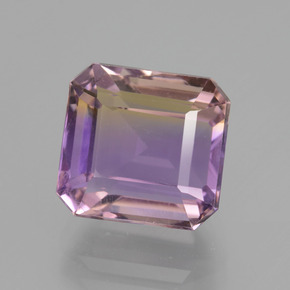 5.5ct Octagon Facet Bi-Color Ametrine Gem (ID: 434755)