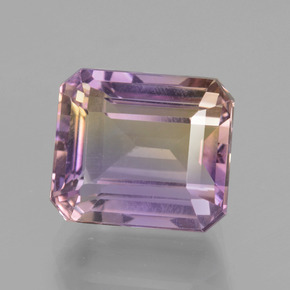 Buy 6.34 ct Bi-Color Ametrine 11.02 mm x 9.6 mm from GemSelect (Product ID: 434756)