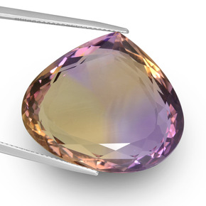 Buy 47.42 ct Bi-Color Ametrine 28.73 mm x 24.7 mm from GemSelect (Product ID: 439666)