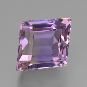 Bi-color Ametrine Gem - 7.2ct Rhomb Facet (ID: 441360)
