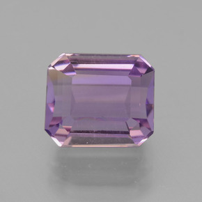 Bi-Color Ametrine Gem - 4ct Octagon Facet (ID: 441398)