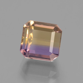 3.7ct Octagon Facet Bi-Color Ametrine Gem (ID: 441582)