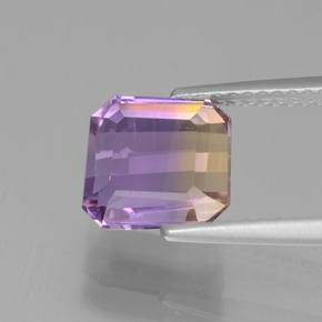 Buy 2.31 ct Bi-Color Ametrine 8.15 mm x 7.8 mm from GemSelect (Product ID: 441587)