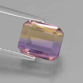 Buy 2.38 ct Bi-Color Ametrine 7.93 mm x 6.7 mm from GemSelect (Product ID: 441635)