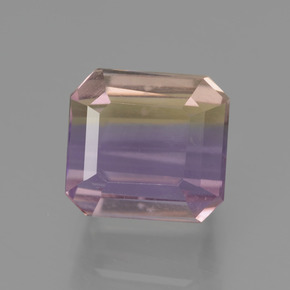 3.7ct Octagon Facet Bi-Color Ametrine Gem (ID: 441985)