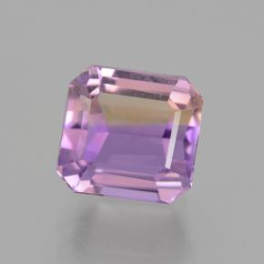 5.6ct Octagon Step Cut Bi-color Ametrine Gem (ID: 442173)