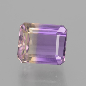 Bi-Color Ametrine Gem - 4.7ct Octagon Facet (ID: 442576)