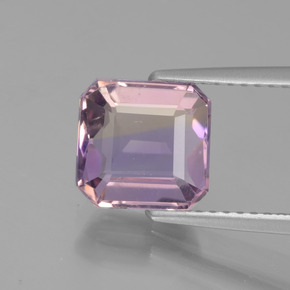 Buy 2.35 ct Bi-Color Ametrine 8.15 mm x 7.9 mm from GemSelect (Product ID: 442627)